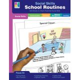 Social Skills Mini Book, School Routines