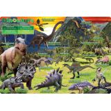 Dinosaurs, PosterMat Pals®, 12 x 17.25 Smart Poly®, Single Sided