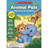 Animal Pals Wipe-Clean Activity Book