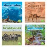 Habitats, Set of 8 books