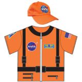 My 1st Career Gear for Toddlers, Astronaut Top & Cap Set