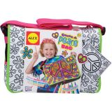 Color a Peace Messenger Bag