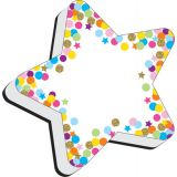 Magnetic Whiteboard Erasers, Star Confetti