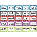 Magnetic Die-Cut Foam Sight Words, 2nd 100 Words, Level 2