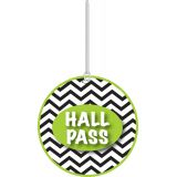 Chevron Hall Pass