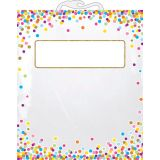 Confetti File Buddy™ Storage Bag, 10.5 x 12.5, 6-Pack