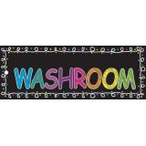 Laminated Hall Pass, Chalk Washroom Pass