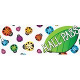 Laminated Hall Pass, Ladybug Hall Pass