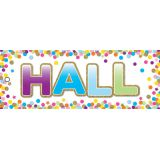 Laminated Hall Pass, Confetti Hall Pass