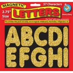 "2-3/4"" Magnetic Letters, Sparkle"