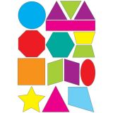 Foam Math Manipulatives, Colorful Shapes