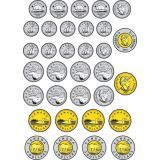 Money Foam Manipulatives, Canadian Coins