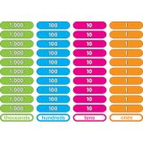 Foam Math Manipulatives, Place Value Counting Bars