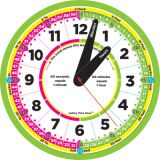 Ashley Time Zone™ 12 Advanced Instruction Clock