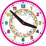 12 Confetti Fun Clock