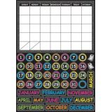 Magnetic Mini Bulletin Board Set, Chalk Calendar
