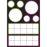 Magnetic Classroom Charts, Number Bonds & Ten Frames