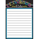 Magnetic Classroom Charts, Classroom Rules