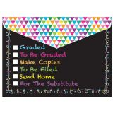 Smart Poly® Folder, Chalk Tasks