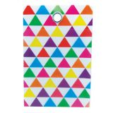 Smart Poly™ Pockets, Triangles, 4 x 6 10-Pack