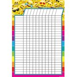 Emoji Incentive 13 x 19 Smart Poly™ Chart
