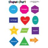 Shapes 13 x 19 Smart Poly® Chart