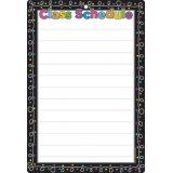 Chalk Dots Class Schedule 13 x 19 Smart Poly® Chart