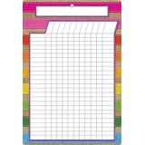 Burlap Incentive Chart 13 x 19 Smart Poly® Chart