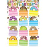 DonutFetti™ Birthdays 13 x 19 Smart Poly® Chart