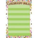 DonutFetti™ Classroom Rules 13 x 19 Smart Poly® Chart
