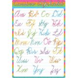 Cursive Alphabet 13 x 19 Smart Poly® Chart
