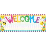 Smart Poly® Welcome Banner, Emoji