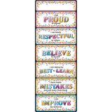 Confetti Positive Smart Poly® Clip Chart