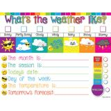 Weather Emoji 17 x 22 Smart Poly® Chart