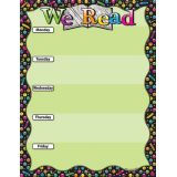 We Read Emoji 17 x 22 Smart Poly® Chart