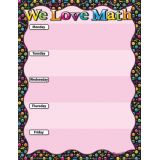 We Love Math Emoji 17 x 22 Smart Poly® Chart