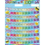 100 Days Emoji 17 x 22 Smart Poly® Chart