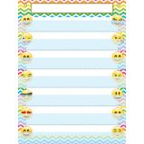 Smart Poly™ Pocket Chart, 7 Pockets, Emojis