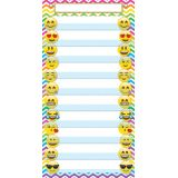 Smart Poly® Pocket Chart, 10 Pockets, Emojis