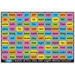 Smart Poly™ Double-Sided Learning Mat, Sight Words 1st & 2nd 100