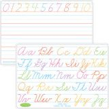 Smart Poly® Double-Sided Learning Mat, Cursive Handwriting