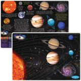 Smart Poly® Double-Sided Learning Mat, Solar System
