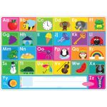 Smart Poly™ Double-Sided Learning Mat, ABC/Numbers 1-20