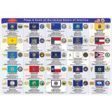 Smart Poly® Double-Sided Learning Mat, State Flags