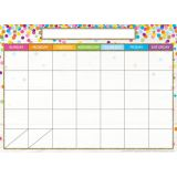 Calendar Confetti Style, Space Savers, PosterMat Pals®, 13 x 9.5 Smart Poly®, Single Sided