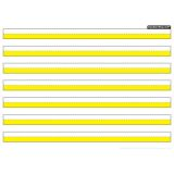 Smart Poly® PosterMat Pals™ Space Saver, 3/4 Handwriting Highlighted Yellow
