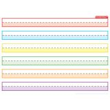 Smart Poly® PosterMat Pals™ Space Saver, 1 Handwriting Highlighted Multi Color