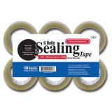 BAZIC® Clear Sealing Tape 6-Pack