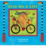 Bear on a Bike Board Book