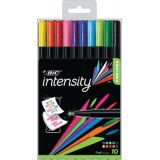 BIC® Intensity Fineliner Pens, Pack of 10